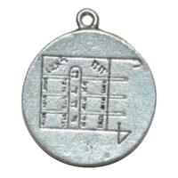 médaille magnétisé de la lune