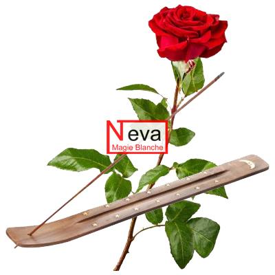 L'encens de rose : pour le retour amoureux, le retour affectif