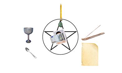autel rituel argent