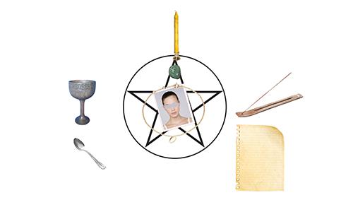 autel pour le rituel de chance