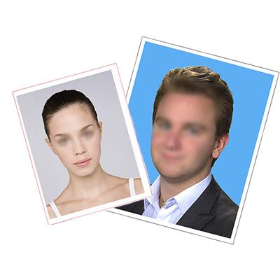 photos femme et homme