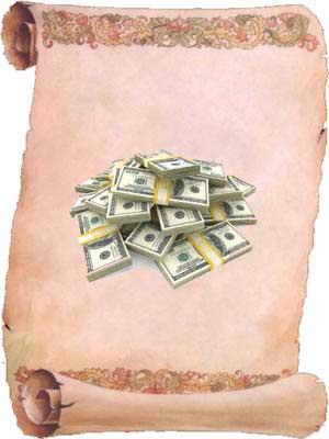 incantation pour avoir de l'argent