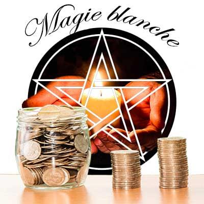 magie blanche pour l'argent