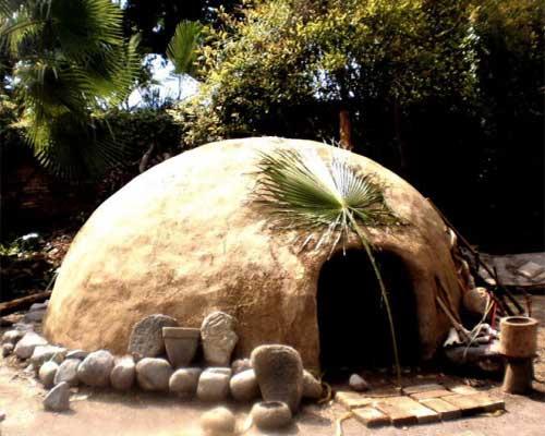 hutte chaman