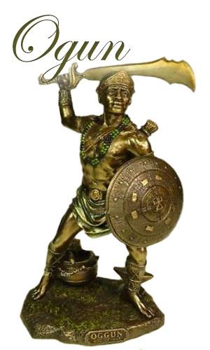 dieu vaudou Ogun