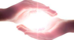 mains du magnétiseur