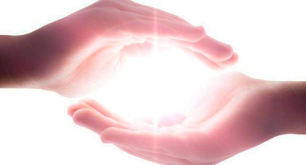 les mains du magnétiseur